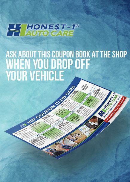 Ask Honest-1 Milwaukie about this VIP coupon club card, when you DROP OFF your vehicle